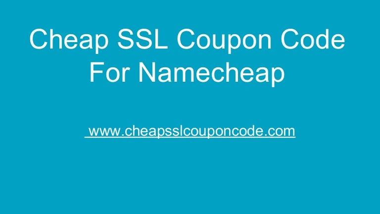 Cheap Ssl Coupon Code For Namecheap