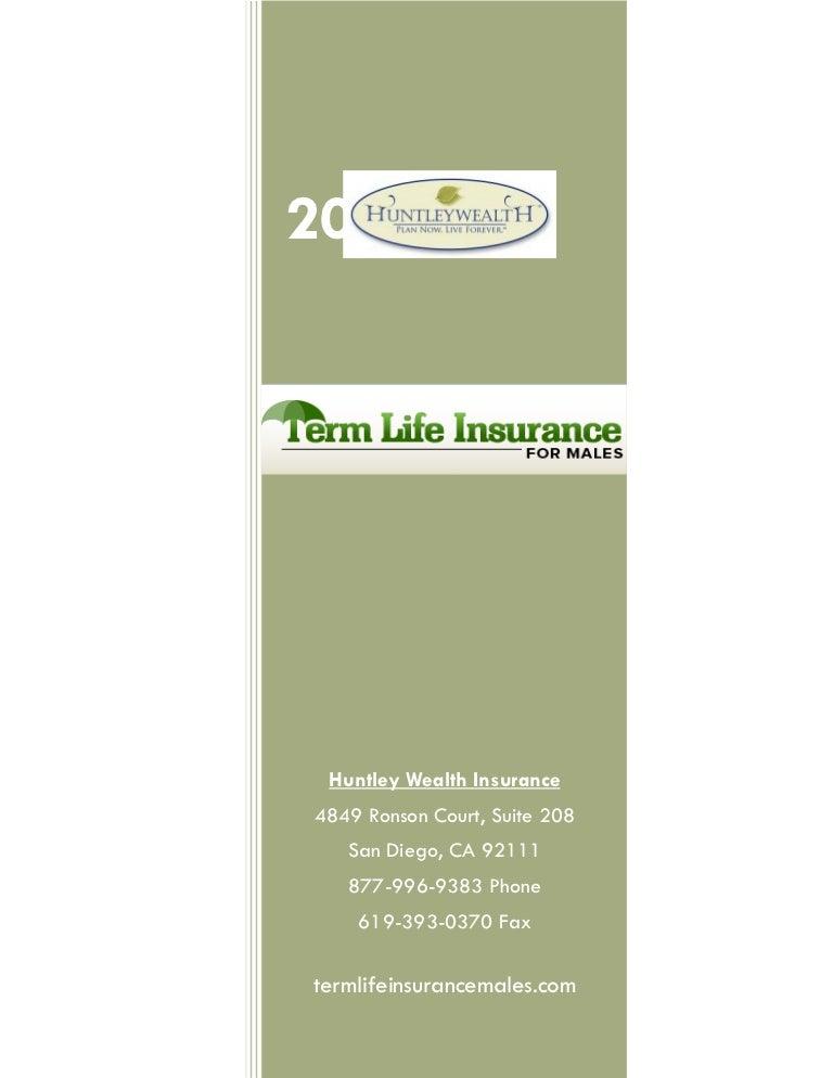 Cheap term life insurance