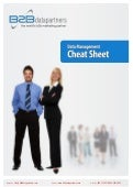 Data Management Cheat sheet