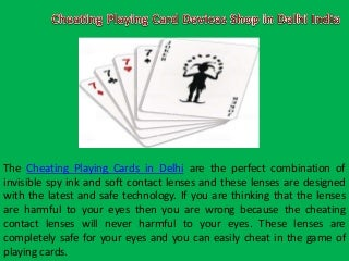 Marked Playing Cards in Delhi