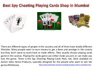 Best Cheating Playing Cards in Mumbai