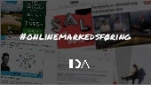 Overblik over online marketing cheat sheet - Foredrag hos IDA