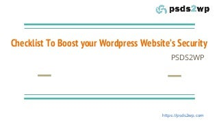 PSD to WordPress Conversion & WordPress Outsourcing Company
