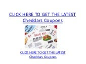 photo regarding Cheddars Coupons Printable identified as Cheddars Discount codes - Printable Cheddars Discount coupons