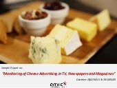 Emrooz Marketing Research Co. (EMRC) - Media Monitoring - Cheese Sample Report