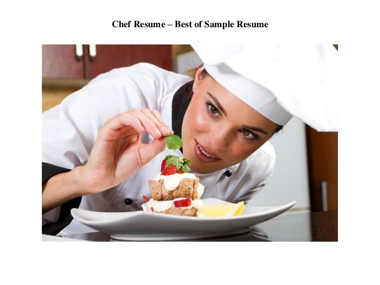 chef resume best of sample resume chief cook resume - Chief Cook Resume