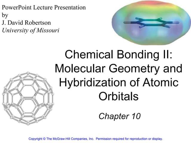 Chemical bonding II