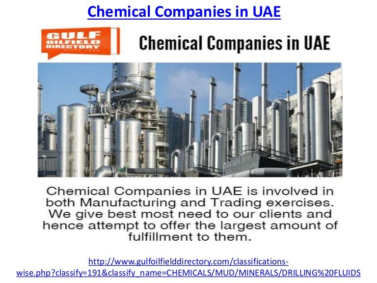 Chemical Companies In Uae