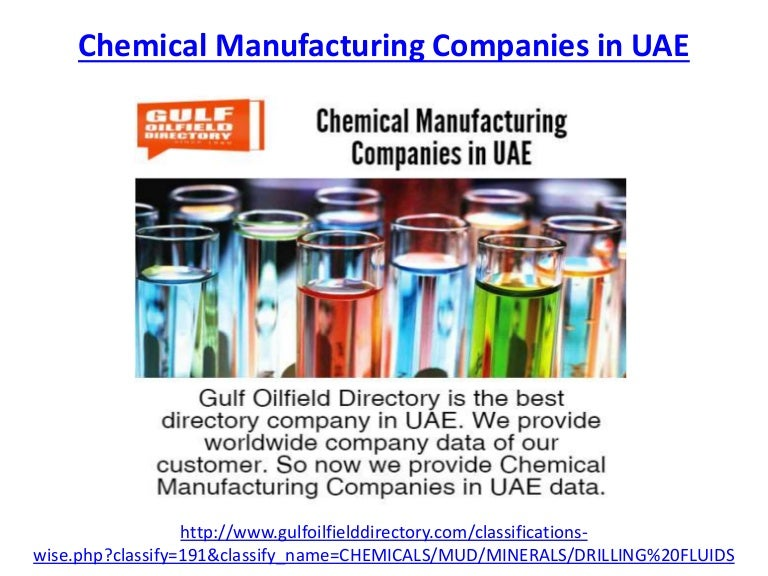 Which is the best chemical manufacturing companies in UAE
