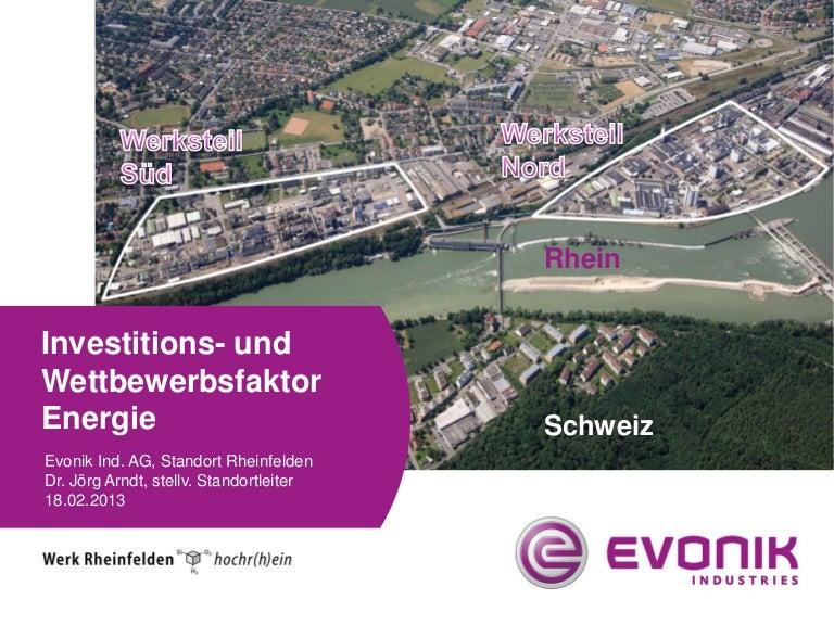 Chemie sozialpartnerveranstaltung energie_dr_joerg_arndt_evonik_industries_rheinfelden_wettbewerbsfaktor