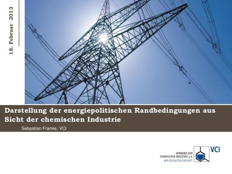 Chemie sozialpartnerveranstaltung energie_sebastianfranke_vci_randbedingungen_energiepolitik