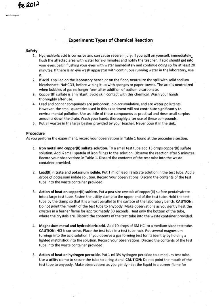 formal report format sample