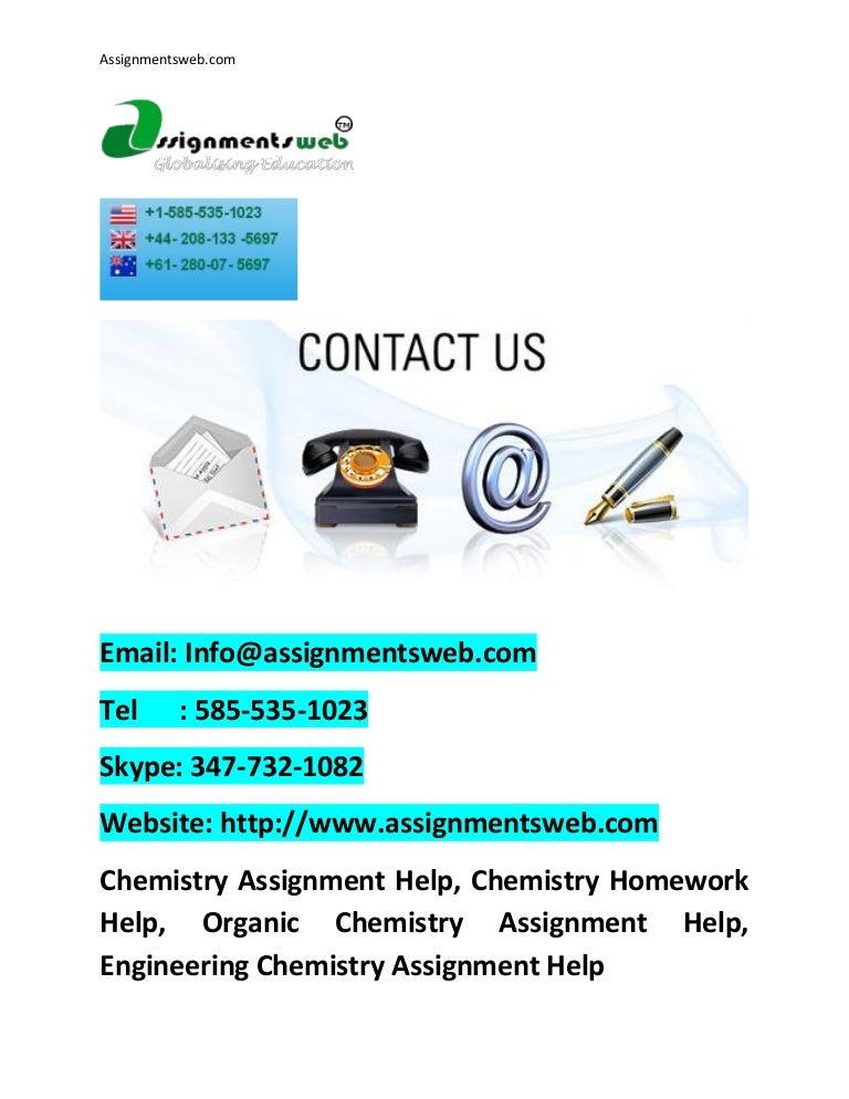 chemistry assignment help chemistry homework help best chemistry pr
