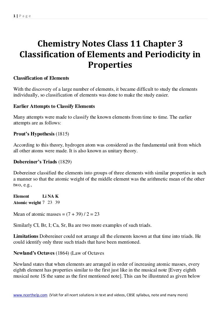 Chemistry Notes Class 11 Chapter 3 Classification Of Elements And Per F Block Orbital Diagram