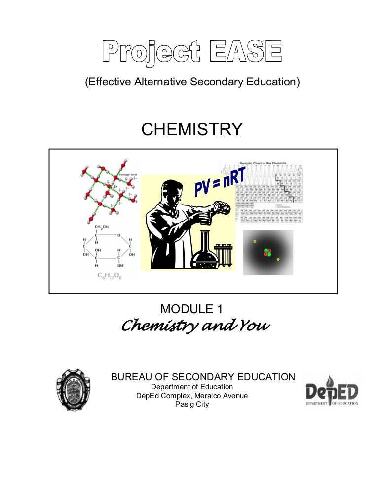 Chem m1 chemistry and you