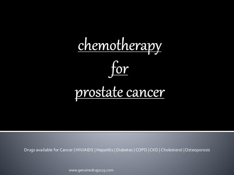 honvan para el cáncer de próstata