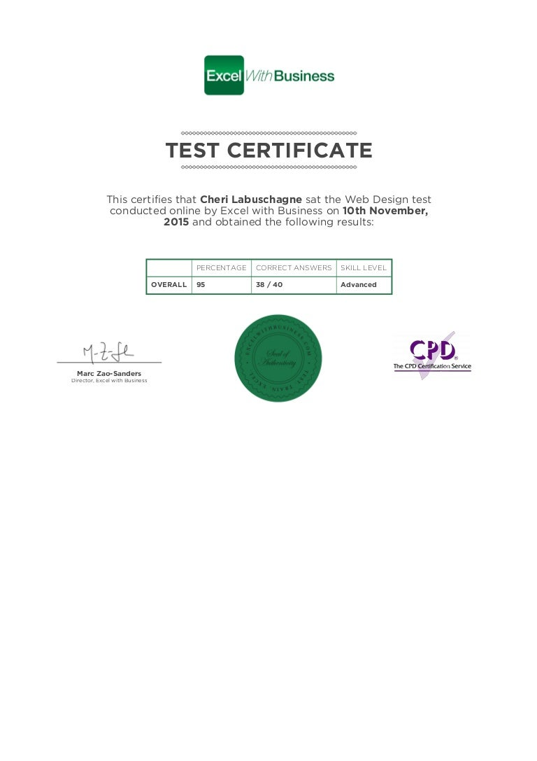 Web design certificate 1betcityfo Images