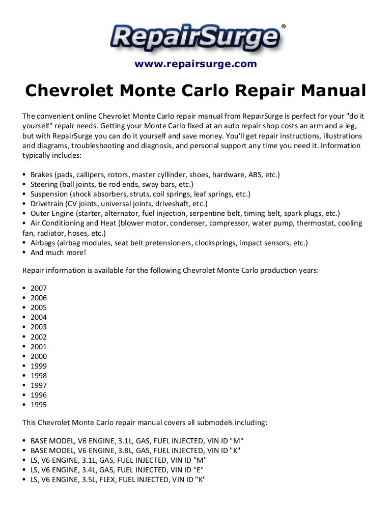 1998 monte carlo engine diagram | www wiring diagram publicity -  www.marsilioshop.it  wiring diagram library
