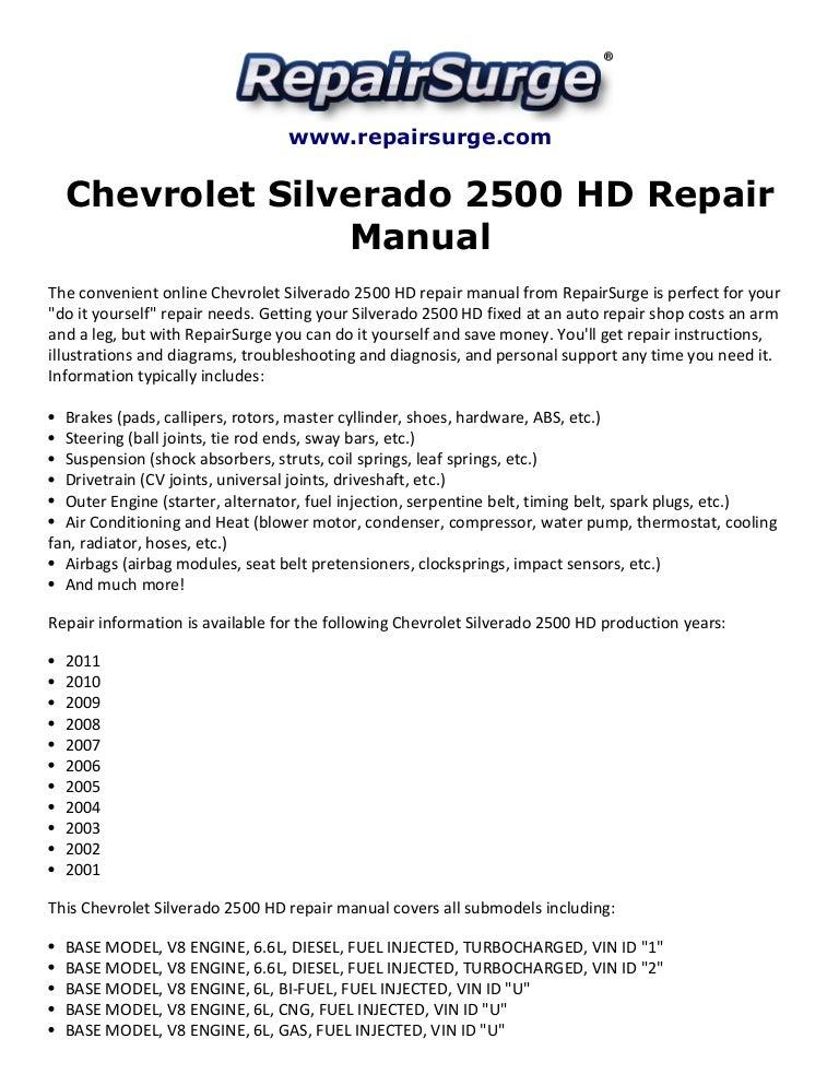 2007 silverado and sierra repair shop manual original set ck9.
