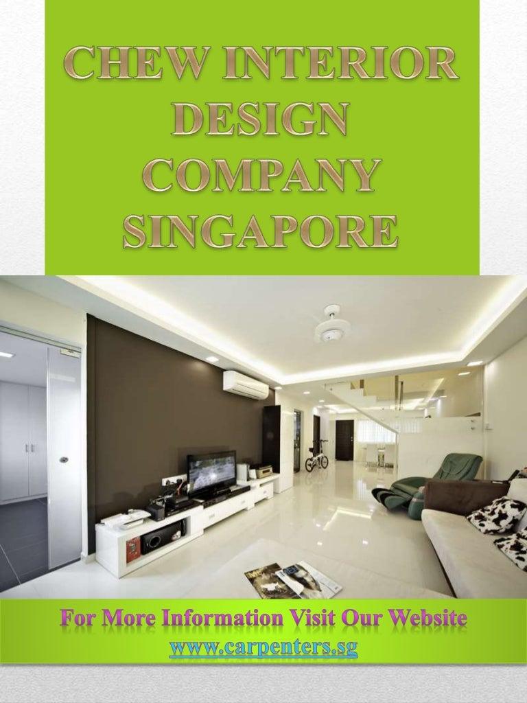 Chew interior design company singapore for Design company singapore
