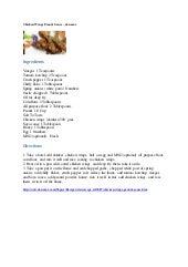 Chicken wings peanut sauce – eknazar