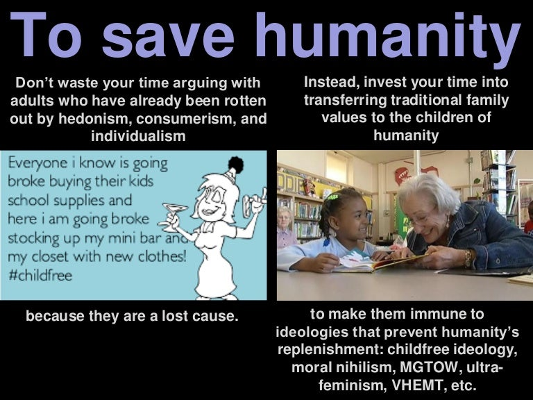 Natalist values: To save humanity, invest your time into