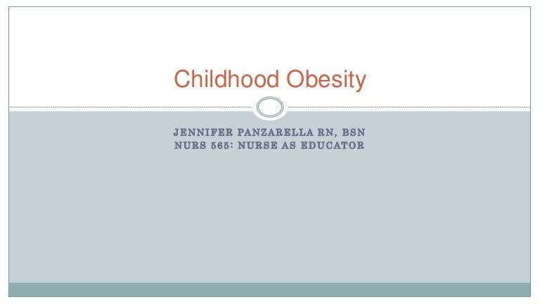 Childhood Obesity Presentation