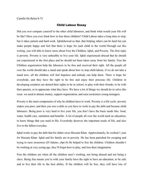 feedback about essay friends