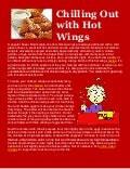 Chilling out with hot wings