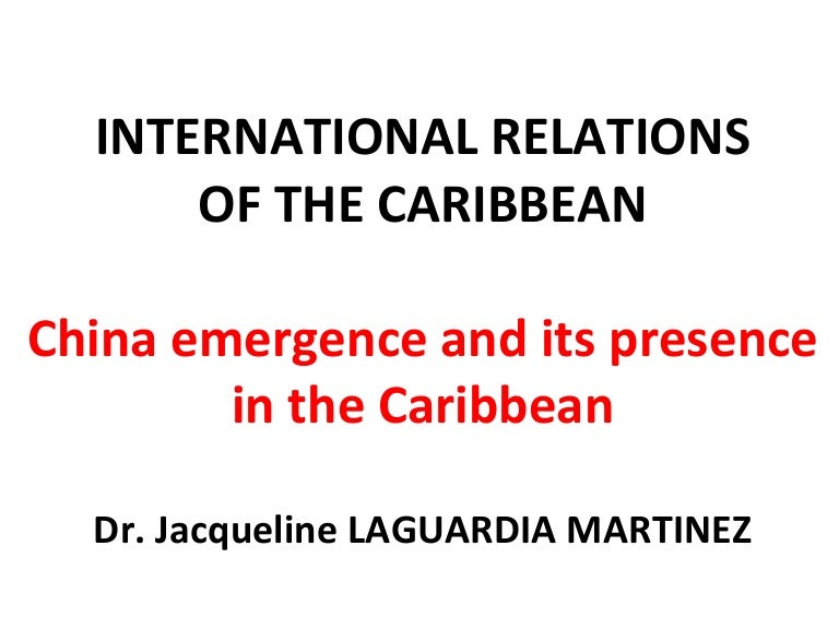 Caribbean–China relations