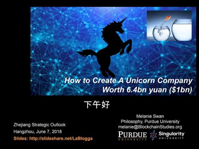 China Next-generation Unicorn Startups