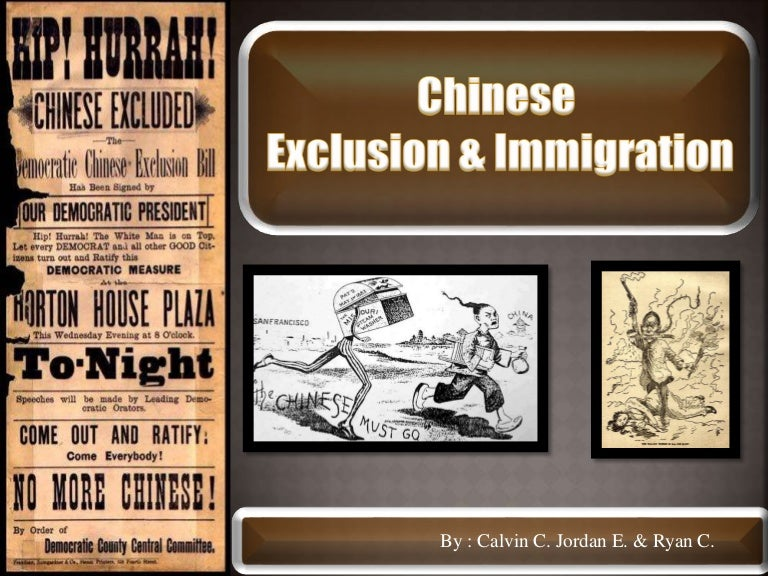 A history of the chinese exclusion act