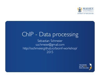 ChIP-seq - Data processing