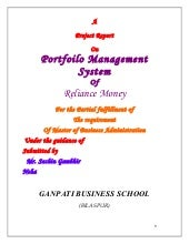 Trading management system project