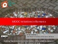 MOOC Initiatives in Romania