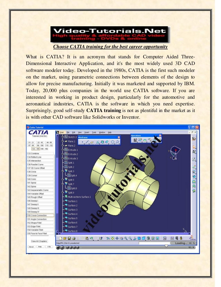 Choose catia training for the best career opportunity