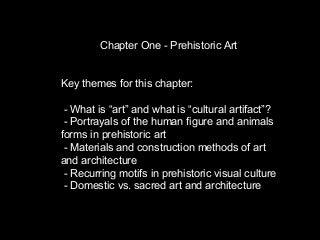 Chp1 PPT: Prehistory