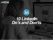 AMA Triangle Transitions Mastermind: Chris Daltorio's  Dos and Don'ts for LinkedIn