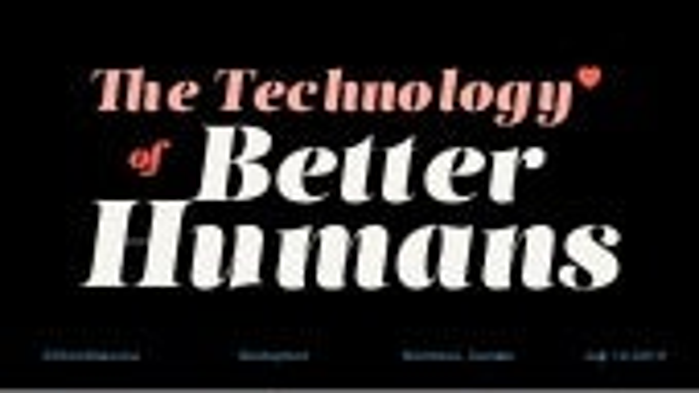 Startupfest 2019 - The technology of better humans