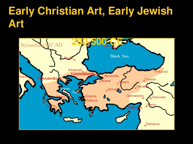 Early christian early jewish art powerpoint sciox Choice Image