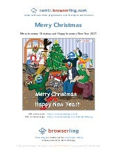 Merry Christmas and Happy New Year - Webcomic about programmers, web developers and browsers