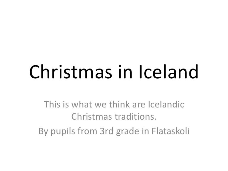 christmas in iceland - Iceland Christmas Traditions