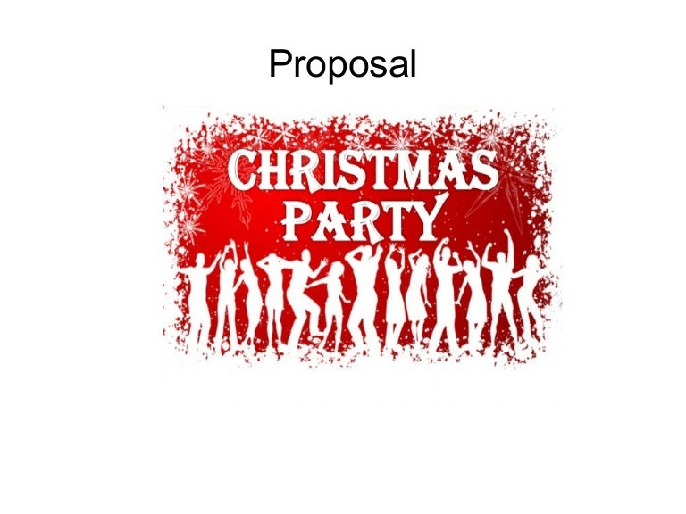 CAE writing a proposal – Party Proposal