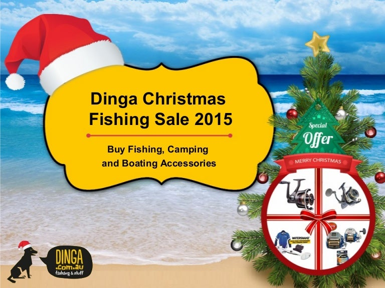 buy fishing camping and boating accessories on christmas sale 2015 - Christmas Deals 2015