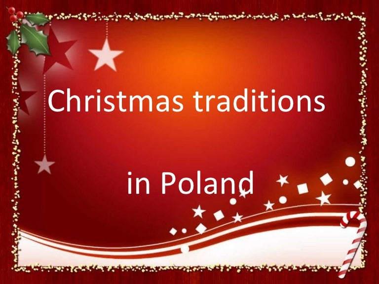 Merry Christmas In Polish.Christmas Traditions In Poland