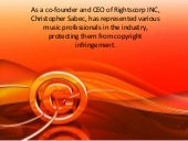 Christopher Sabec, CEO of Rightscorp, on Copyright Law