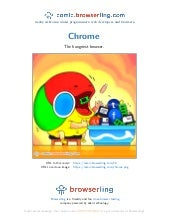 Google Chrome Browser - Webcomic about programmers, web developers and browsers
