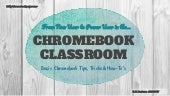 From New User to Power User in the Chromebook Classroom