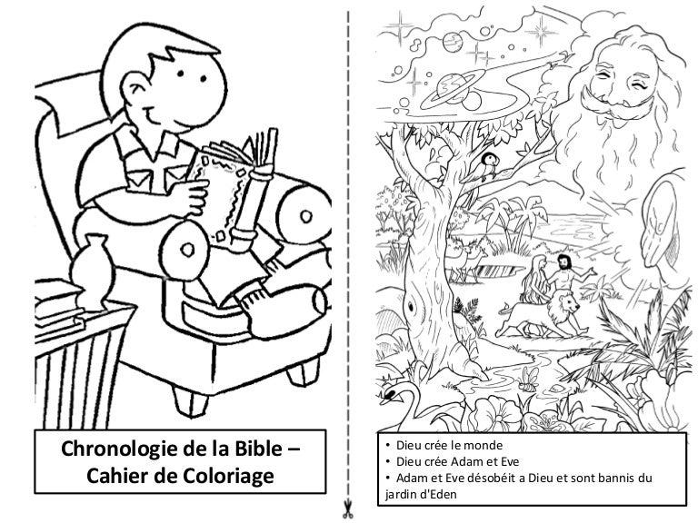 Chronologie De La Bible Cahier De Coloriage