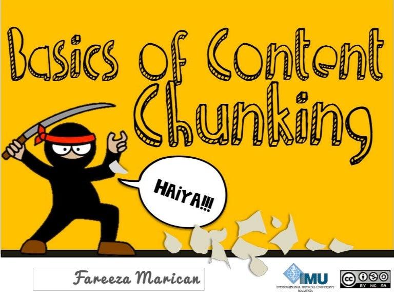 Basics of Content Chunking